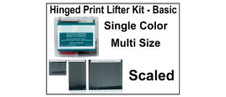 Hinged Print Lifter Kit - Basic - Single Color, Multi Size - Scaled