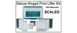 Hinged Print Lifter Kit - Deluxe - Multi Color, Multi Size - Scaled