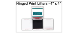 Hinged Print Lifters - 4