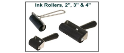 Fingerprint Ink Rollers / Brayers