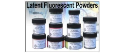 Fluorescent Latent Print Powders
