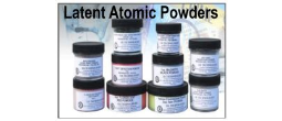 Atomic Latent Print Powders