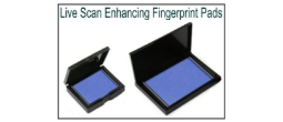 Live Scan Enhancing Fingerprint Pads
