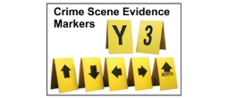 Crime Scene Evidence Photo Direction Indicators
