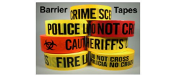 Barrier Crime Scene Tape