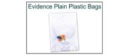 Plastic Evidence Bags - Plain
