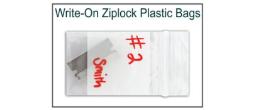 Write-On Ziplock Evidence Bags