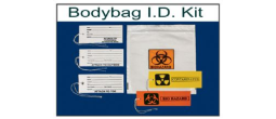 Body Bag Identification Tag Kit
