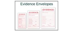 Evidence Envelopes - White