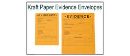 Kraft Paper Evidence Security Envelopes