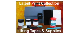 Latent Print Collection, Lifting Tapes, Gel Lifters, Etc.