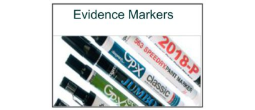 Evidence Markers and Permanent Ink Markers