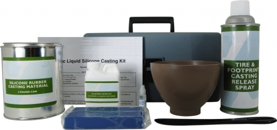 Basic Liquid Silicone Casting Kit Advanced Tire and Footprint Plaster Casting Kit Advanced Tire and Footprint Liquid Silicone Casting Kit Advanced Tire and Footprint Dental Stone Casting Kit Acrylic Sand and Dirt Hardener AccuTrans Casting Silicone