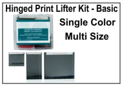 Hinged Print Lifter Kit - Basic - Single Color, Multi Size