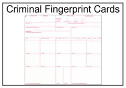 picture about Printable Fingerprint Cards known as Fingerprinting Playing cards and Data