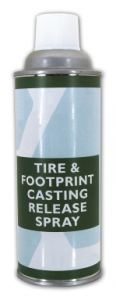 Tire and Footprint Casting Release Spray