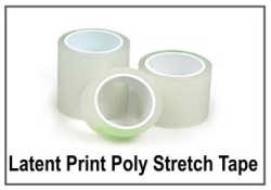 Latent Print Lifting Tapes - Poly-Stretch