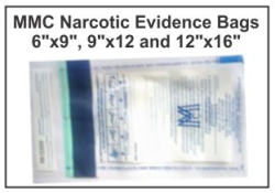 Narcotic Evidence Collection Bags