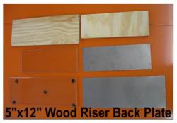"5"" X 12"" Inking Slab Wood Riser"