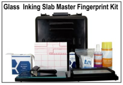 Glass Slab Master Portable Fingerprinting Kit