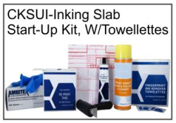 CKSUI Inking Pad START-UP Kit W/Towellettes