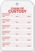 Chain of Custody Tags