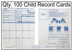 Child Record Fingerprint Cards