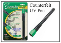 Counterfeit UV Detector Pen