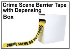 Crime Scene Barrier Tape, Do Not Cross
