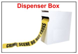 Barrier Tape Dispensing Box