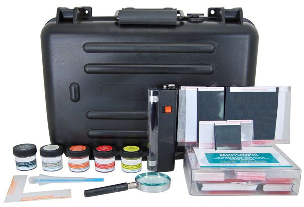 FM5L Master Fluorescent Magnetic Latent Print Kit