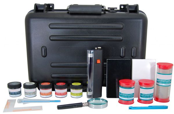 FM5T - Master Fluorescent Magnetic Latent Print Kit
