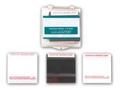 "Black Hinged Print Lifters - 1.5"" x 2"" - 24/box"