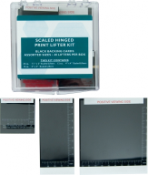 Black Basic Scaled Hinged Print Lifter Kit - 48/box