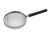 "2.5"" Dia. .5X Handheld Glass Lens Magnifier"