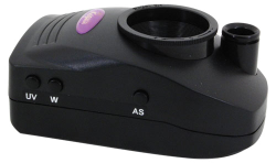 10X General Purpose UV-365, White, & IR-980 Light Magnifier