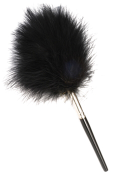 "8"" Black Feather Brush