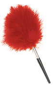 "8"" Red Feather Brush