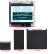 Black Hinged Palm Print Lifter Basic Hinged Print Lifter Kit - 48/box