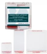 White Hinged Palm Print Lifter Basic Hinged Print Lifter Kit - 48/box