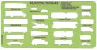 Large Vehicle Template Set - 3 piece