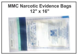 MMC Narcotic Evidence Bags 12 x 16