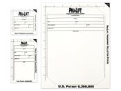 Pro-Lift Latent Print Lifters