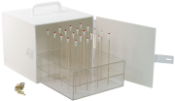 Portable Swab Carrying Case with Rack