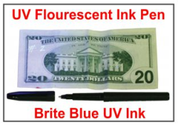 UV Invisible Fluorescent Pen