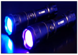 Tactical UV light