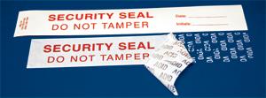 Precut Tamper-Indicating Void Security Seal - 100/pkg