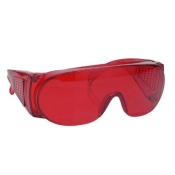 UV Absorbing Goggles - Red
